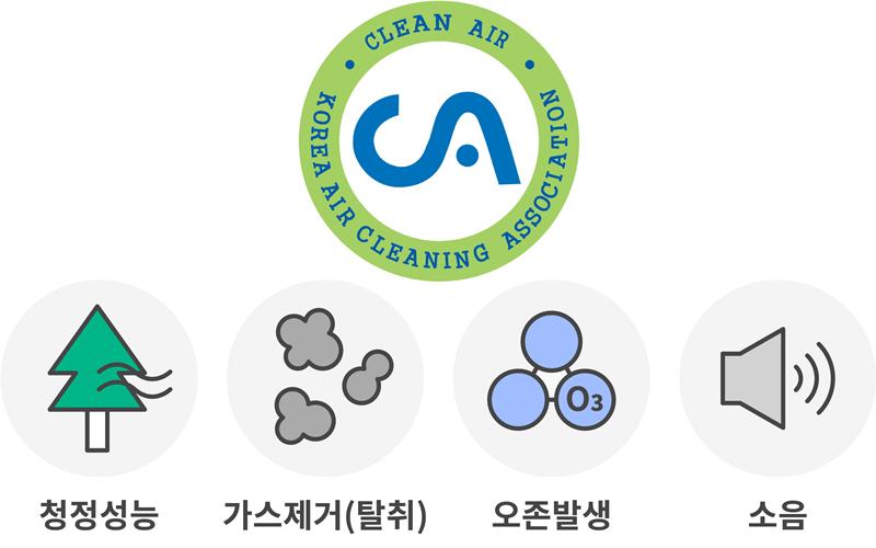공기청정기 CA인증