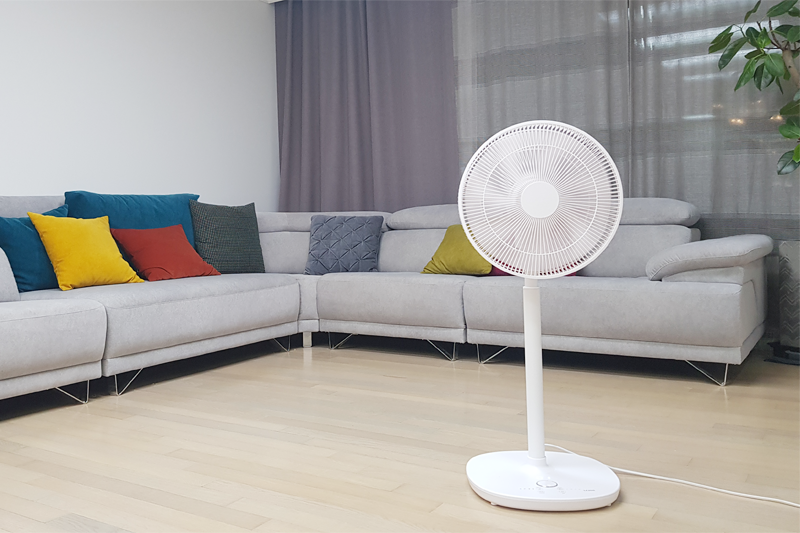 Electric fan guide